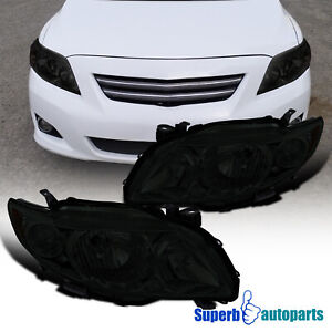 For 2009 2010 Toyota Corolla Le s xle xrs Replacement Headlights Driving Lamp