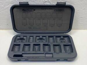 Blue Point 15pc 1 2 Drive Metric Impact Socket Case Carrier Packaging Tool Box