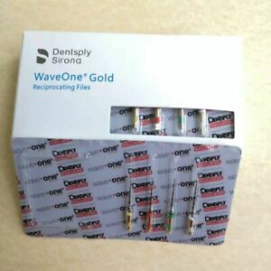 Waveone Gold Wave One Assorted Endodontic File Root Canal Dentsply 25mm