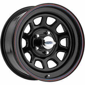 4 17x9 Black Wheel Cragar 342 D Window 6x5 5 0