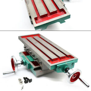 Compound Slide Milling Machine 2 Axis Work Table 450 170mm Precise Drilling