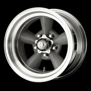 American Racing Hot Rod Vn30958576 Tt O Wheel 15 x8 5 5x5 5 Vintage Silver