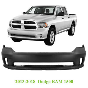 Front Bumper Cover For 2013 2018 Dodge Ram 1500 Sport Express 615343895277