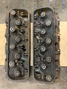 1971 396 402 427 454 Bb Chevy Large Oval Port Cylinder Heads