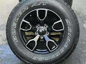18 Jeep Factory Oem Wheels And Tires 2007 2020 Wrangler 2020 Gladiator 9198 A