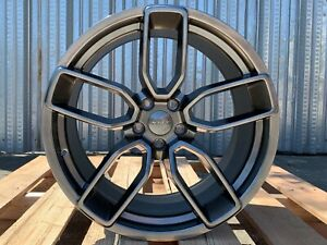 20x9 5 20x10 5 Staggered Challenger Charger Hellcat Srt Dodge Wheels Gloss Black