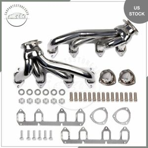 For Ford 330 360 390 428 5 4 5 8 Big Block Fe Headers Exhaust Manifold Stainless