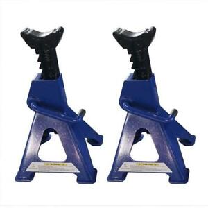 1 Pair 3 Tons Aluminum Racing Jack Stands Heavy Duty For Car Truck Trailer