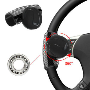 Universal Car Steering Wheel Handle Aid Auto Truck Booster Ball Spinner Knob Us
