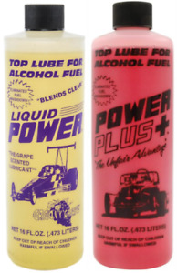 Power Plus Top Lube 2 Pack Grape cherry Scented Fuel Additive For Gas methanol