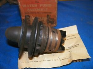 Nors 1937 Ford Flathead V8 60 Hp Water Pump