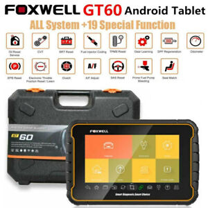 Foxwell Gt60 Obd2 Scanner Automotive All System Diagnostic Injector Coding tpms
