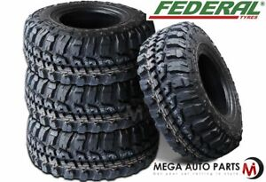 4 Federal Couragia M t 235 85r16 Mud Truck Tires Lt 235x85x16 10ply 120 116q