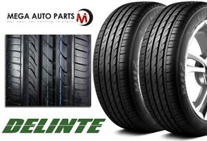2 Delinte Dh2 215 60r17 100h All season Traction Touring Performance 420aa Tires