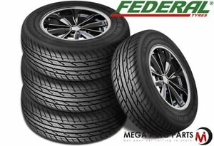 4 New Federal Couragia Xuv P265 70r15 112h All Season Suv Touring Highway Tire