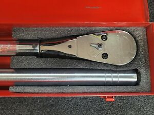 Snap On Tools 1 Dr 200 1000 Ft lb Torque Wrench Qc5r1000 Steal
