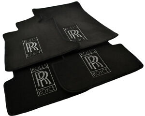 Floor Mats For Rolls Royce Ghost 2010 2019 Tailored Carpets With Rr Emblem Lhd