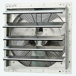 18 Wall Mounted Exhaust Fan Automatic Shutter Variable Speed Fan Only