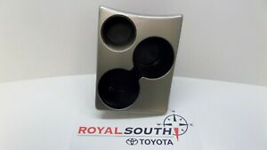 Toyota Tacoma Manual Trans Silver Center Console Cup Holder Genuine Oem Oe
