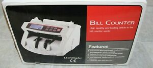 Money Bill Counter Machine Cash Counting Counterfeit Detector Bl 2040