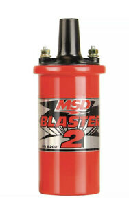 Msd 8202 Blaster 2 Coil High Performance Coil Use With Msd 6 Series Ignition