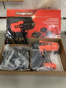 Snap on Cordless 1 2 Drive 18v Monsterlithium Impact Kit New Product Ct9075
