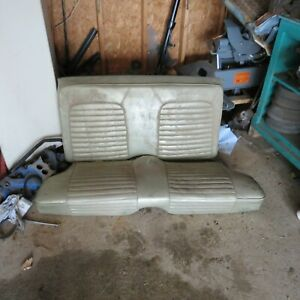 1965 1966 1967 Ford Mustang Coupe Oem Upper And Lower Seats Used Solid