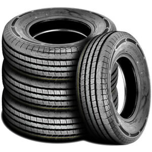 4 New Americus Commercial L T 225 75r16 115 112q E 10 Ply Commercial Tires