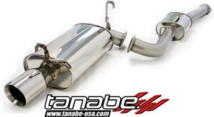 Tanabe Medalion Touring Cat Back Exhaust For 87 92 Toyota Supra
