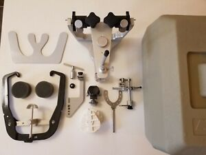 Whip Mix Model 4640 Articulator With Quickmount Face bow And Accessories Used