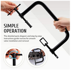 Heavy Duty Motorcycle Small Engine Valve Spring Compressor Install Remover Tool