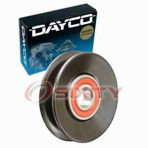 Dayco Drive Belt Idler Pulley For 1987 1989 Chrysler Conquest Engine Bearing Yj