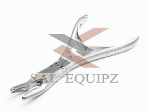 Or Grade Beyer Bone Rongeur Curved 7 Double Action Orthopedic Instruments