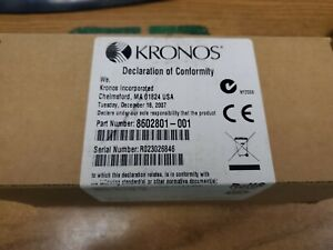 New Kronos Touch Id Plus Biometric Reader 8602801 001 p1