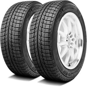 2 New Michelin X Ice Xi3 215 60r16 99h Xl Studless Snow Winter Tires