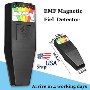 Led Emf Meter Magnetic Field Detector Ghost Hunting Equipment Tester Paranormal