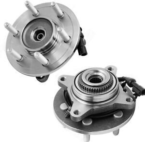 2 Front Wheel Bearings Hub Ford F 150 Expedition Lincoln Mark Lt Navigator 4wd