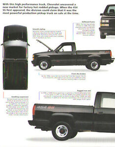 1991 Chevrolet 454 Ss Pickup Truck Article Must See