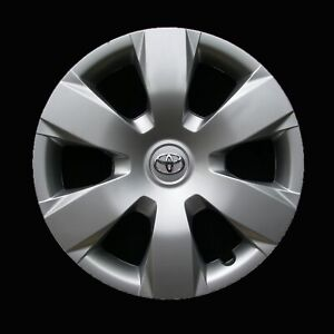 Hubcap For Toyota Camry 2007 2011 Genuine Oem Factory Wheel Cover Silver 61137
