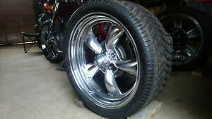 Eagle Polished Mag Wheels 20x8 4 5 5 Rat Rod Street Rod
