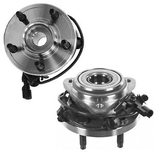 2 Front Wheel Hub Bearing For 2000 2009 Ford Ranger Mazda B3000 B4000 W abs 4wd