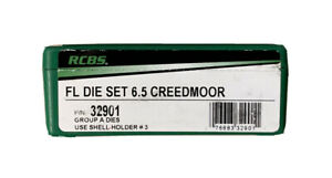 NIB RCBS 6.5 Creedmoor Die Set Full Length Ships Fast Not LeeHornadyDillon $73.97