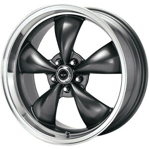 4 18x9 Anthracite American Racing Torq Thrust M Wheel 5x4 5 5x114 3 34