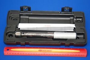 Snap On 1 4 Drive Sae Adjustable Click Type Fixed Torque Wrench 1050 In Lb