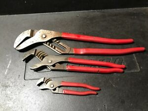 Blue Point Adjustable Joint Pliers Set Chn460 Chn440 Chn426