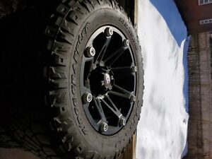 Ballistic Jester 18x9 Black Wheel Rim 6x5 5 With A 12mm Offset And 110 00 Hub