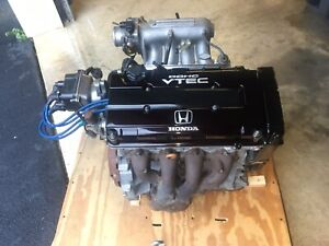 96 98 Civic Si r Ii Jdm B16a Complete Engine Long Block Japan Dohc Vtec Motor