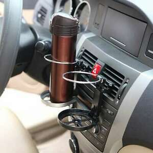 Car Interior Air Vent Folding Drink Water Cup Bottle Bracket Holder Newest Use