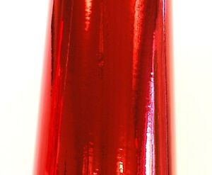 Cherry Red Chrome Mirror Sign Plotter Cutter Vinyl Roll