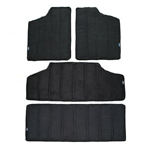 Fits 2012 17 Jeep Wrangler Jk 4dr Black Car Top Heat Insulation Protector Cotton